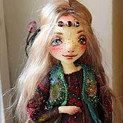 Куклы и игрушки ручной работы. Ярмарка Мастеров - ручная работа Текстильная кукла Селена.. Handmade.