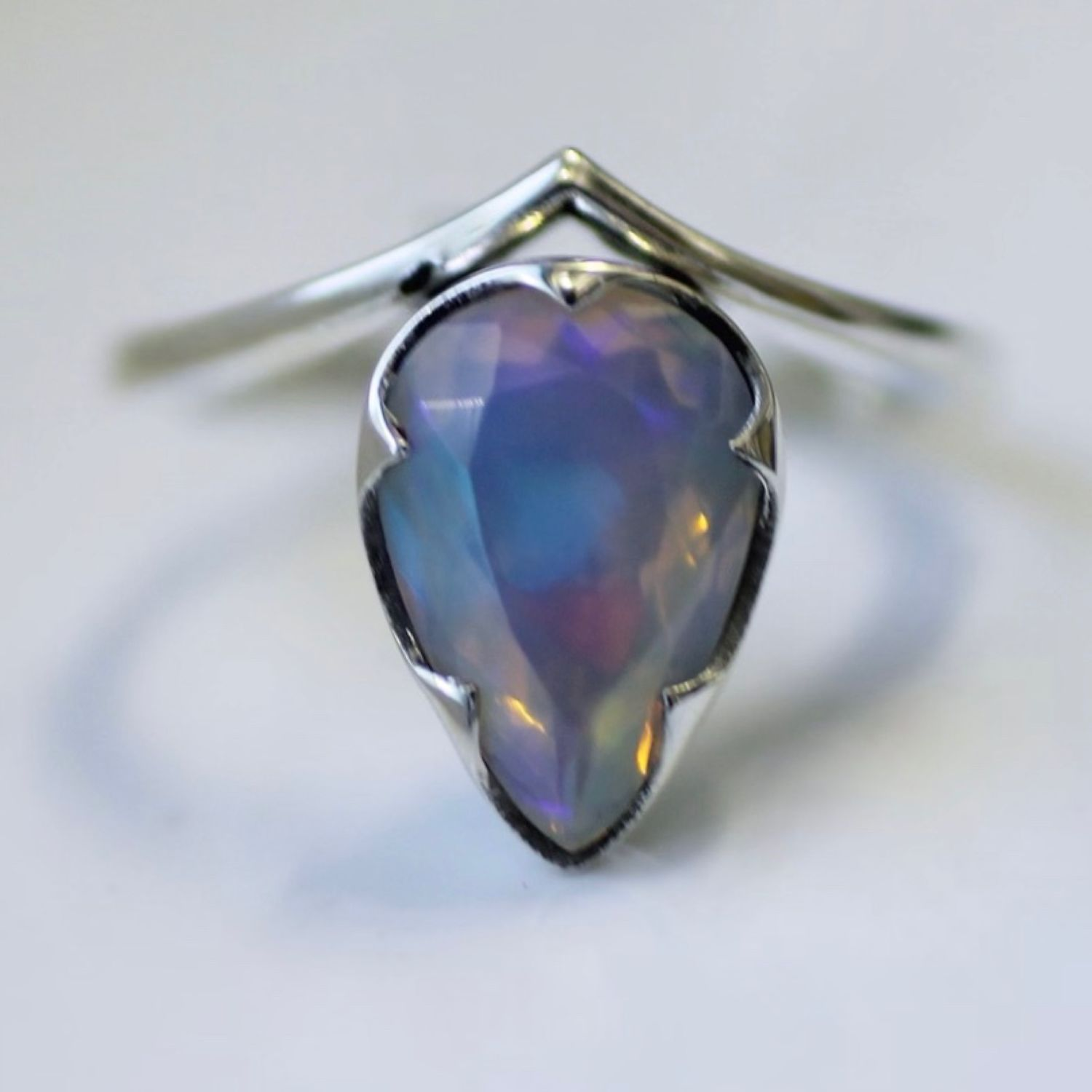 Ring 'Valencia' with natural Opal, Rings, Moscow,  Фото №1