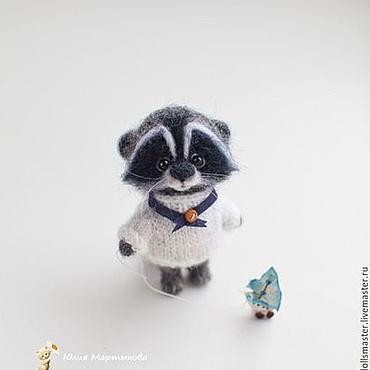 Куклы и игрушки ручной работы. Ярмарка Мастеров - ручная работа Енотик-мечтатель... Handmade.