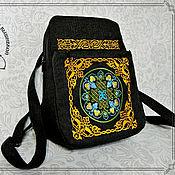 Сумки и аксессуары handmade. Livemaster - original item Backpack Celtic ornament. Handmade.