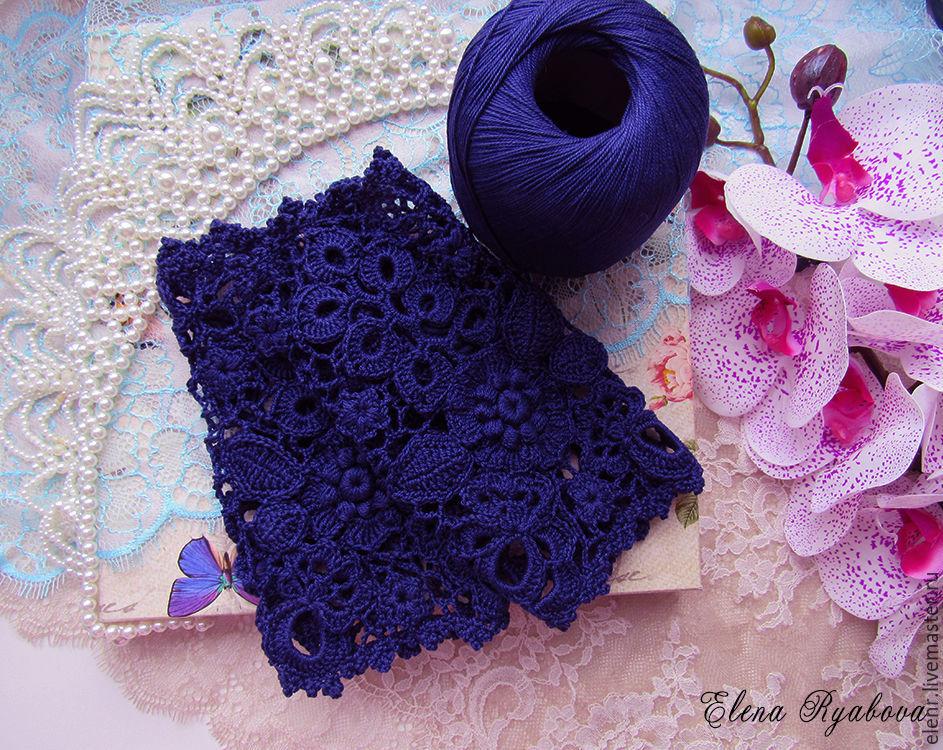 Mittens & Gloves handmade. Livemaster - handmade. Buy Summer mitts, of cotton 'Alla' Irish lace.Handmade, ireland