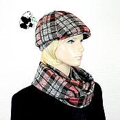 Аксессуары handmade. Livemaster - original item kit. Youth women`s cap plus LIC. The seven colors. No. №6. Handmade.