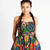 Одежда ручной работы. Ярмарка Мастеров - ручная работа Супер стильный и яркий комбинезон с африканским принтом. Handmade.