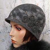 Аксессуары ручной работы. Ярмарка Мастеров - ручная работа шляпа клош iron maiden. Handmade.