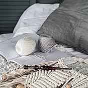 Материалы для творчества handmade. Livemaster - original item 4mm Cedar Wood Knitting Hook. K278. Handmade.