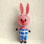 """Куклы и игрушки ручной работы. Ярмарка Мастеров - ручная работа Пятачок из мультфильма """"Винни-Пух"""". Handmade."""