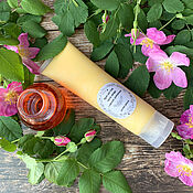 Косметика ручной работы handmade. Livemaster - original item Body cream after sunburn With rosehip oil. Handmade.