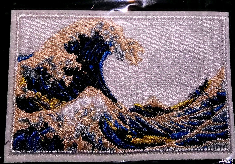 "Нашивка ""Большая волна в Канагаве', Нашивки, Москва,  Фото №1"