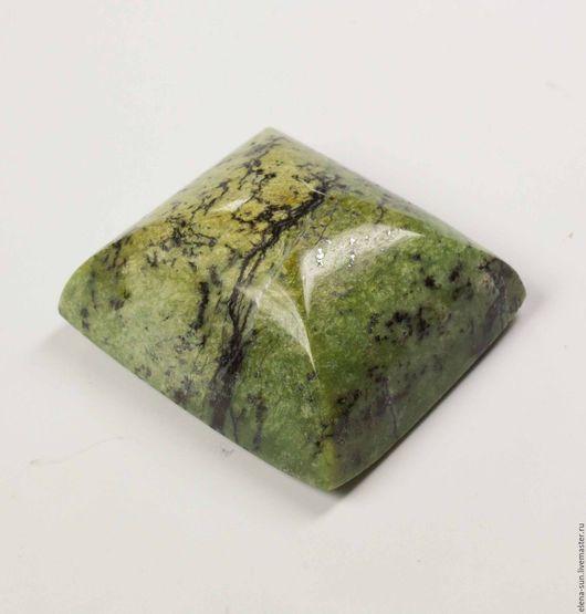 Для украшений ручной работы. Ярмарка Мастеров - ручная работа. Купить Опал зеленый 22,1х18,6х10,4 / 28,76 Ct. Handmade.