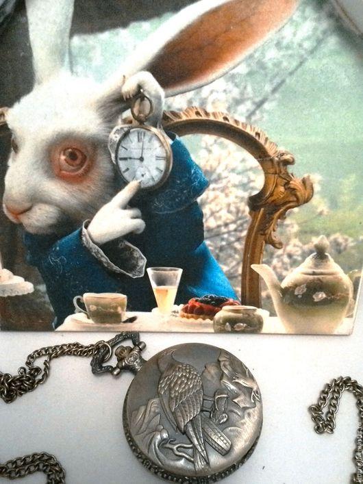 """Часы ручной работы. Ярмарка Мастеров - ручная работа. Купить Часы карманные """"Горный орел"""". Handmade. Часы, часы на цепочке"""