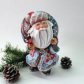 Сувениры и подарки handmade. Livemaster - original item Santa Claus with a big bag. Handmade.