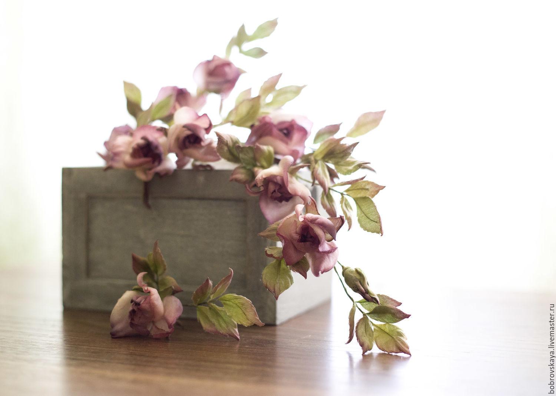 Цветы из шелка. Розы, Цветы, Петергоф, Фото №1