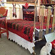 """Для дома и интерьера ручной работы. Ярмарка Мастеров - ручная работа печворк одеяло """"Holyday in Kashmir"""". Handmade."""