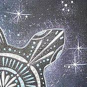 """Картины и панно ручной работы. Ярмарка Мастеров - ручная работа Картина """"Большая Вселенская Черепаха"""". Handmade."""