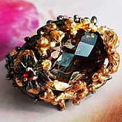Украшения handmade. Livemaster - original item Nectar ring with rauchtopaz. Handmade.