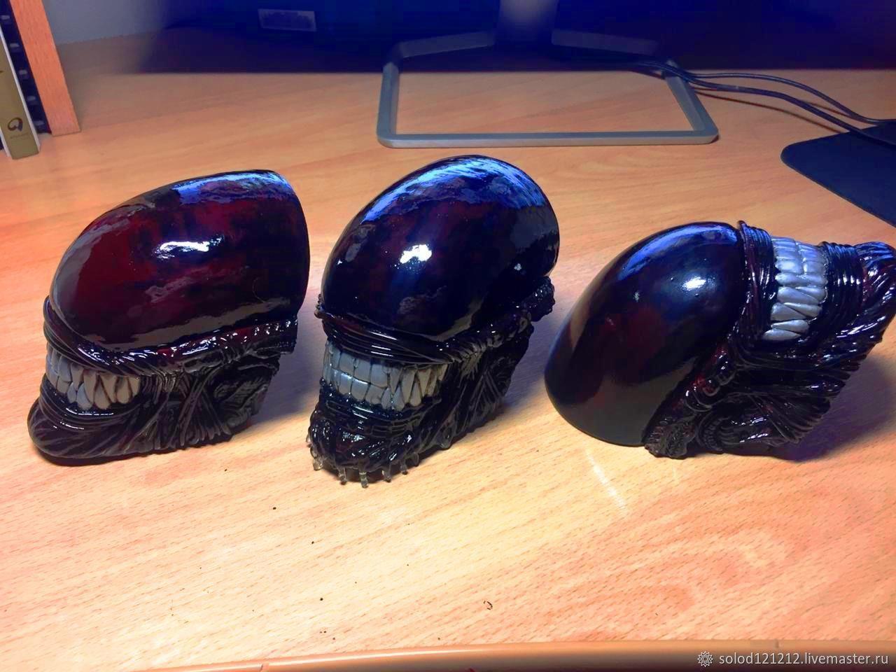 Alien head, Статуэтка, Новосибирск,  Фото №1