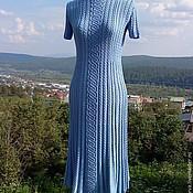 """Одежда ручной работы. Ярмарка Мастеров - ручная работа """"Небеса"""" шёлковое платье. Handmade."""