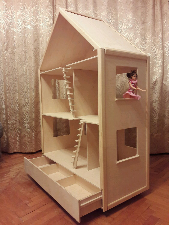кукольный домик из фанеры фотоотчет благодарит помощь организации
