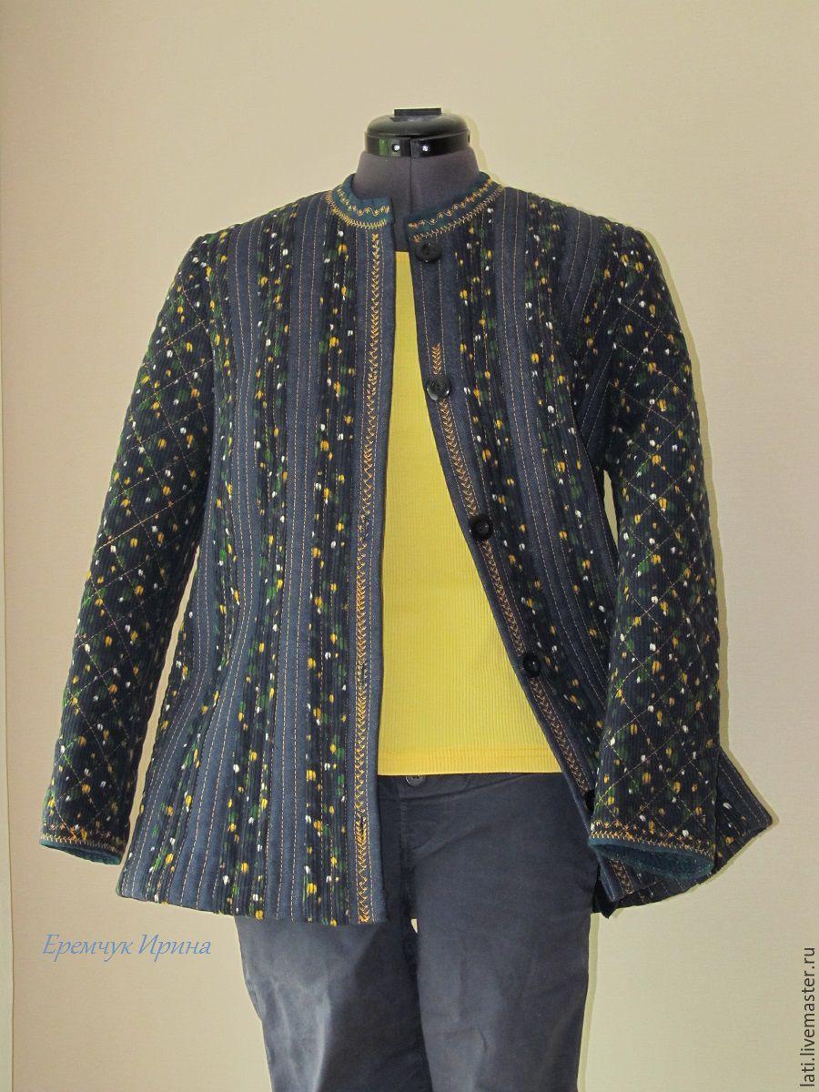 Стеганая куртка своими руками фото 487