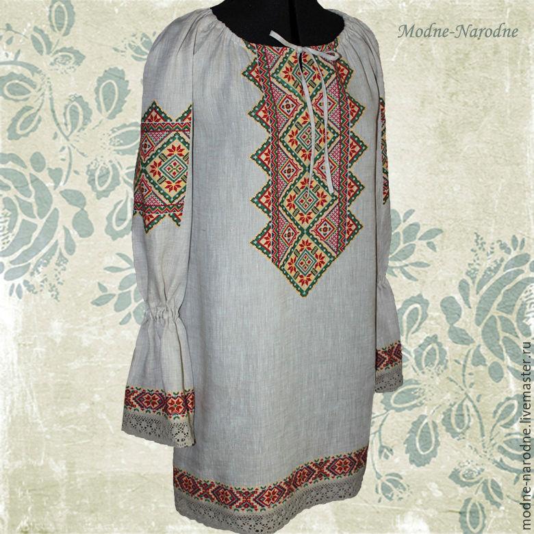 Женская одежда платья вышиванки