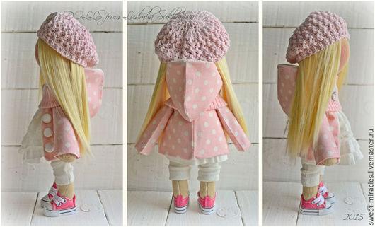 Куклы и игрушки ручной работы. Ярмарка Мастеров - ручная работа. Купить Выкройка Куклы -Малышки и Одежды. Handmade. Разноцветный