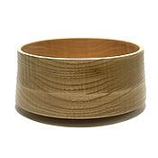 Аксессуары ручной работы. Ярмарка Мастеров - ручная работа Деревянная чаша(тарелка) (древесина Red Oak). Handmade.