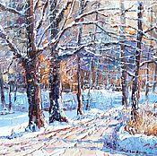 Картины и панно ручной работы. Ярмарка Мастеров - ручная работа Мороз и солнце. Handmade.