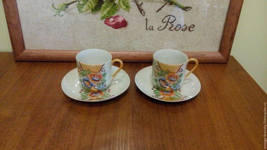 Винтажная посуда. Ярмарка Мастеров - ручная работа. Купить Японские тонкостенные пары 1950 г. Handmade. Япония, чашка для кофе