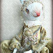 Куклы и игрушки ручной работы. Ярмарка Мастеров - ручная работа Заяц-кукла Злата. Handmade.