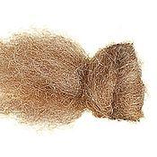 Материалы для творчества handmade. Livemaster - original item НЗ16р20м. Cardoons New Zealand. Color: brown-white melange. 100 g. Handmade.
