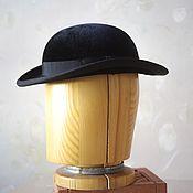 Аксессуары handmade. Livemaster - original item Hat bowler hat female