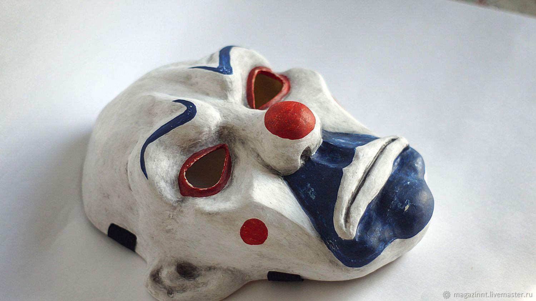Joker Clown mask Batman The Dark Knight Adult Joker Resin Clown Mask C, Carnival masks, Moscow,  Фото №1