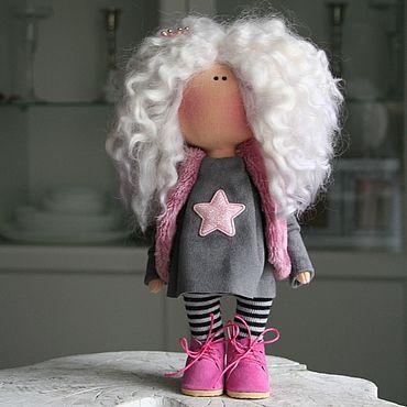 Dolls & toys handmade. Livemaster - original item Doll: Bright star. Handmade.