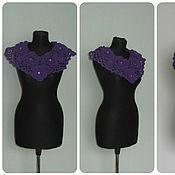 Аксессуары handmade. Livemaster - original item Knitted collar