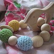 Работы для детей, ручной работы. Ярмарка Мастеров - ручная работа Браслет с птичкой. Handmade.