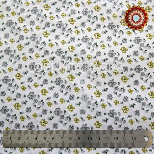 Ткань хлопок `Первоцвет весенний`. Код товара: DFS-00117