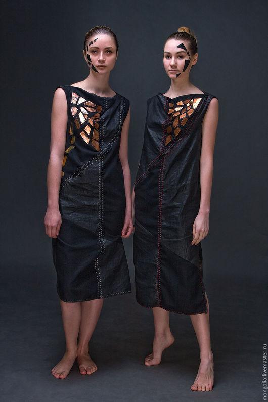 Платья ручной работы. Ярмарка Мастеров - ручная работа. Купить Платья-близнецы Magma & Lava. Handmade. Платье, медь