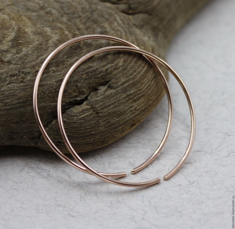 серьги фото кольца