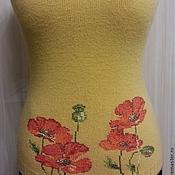 Одежда ручной работы. Ярмарка Мастеров - ручная работа Жилетка с вышивкой. Handmade.