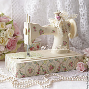 """Для дома и интерьера ручной работы. Ярмарка Мастеров - ручная работа Швейная машинка - """"Vanilla"""". Винтаж.. Handmade."""
