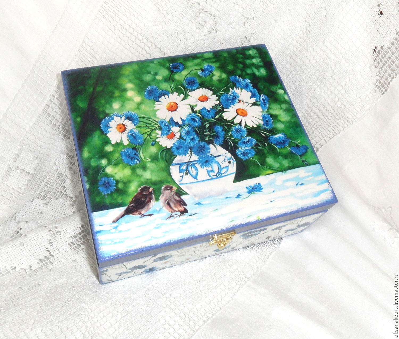 Box of yarn Summer bouquet, Box, Novosibirsk,  Фото №1