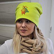 Аксессуары handmade. Livemaster - original item Cool hat, beanie. Handmade.