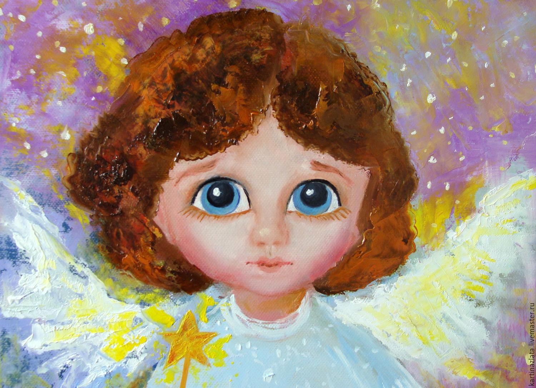 Картинка голубоглазого ангела