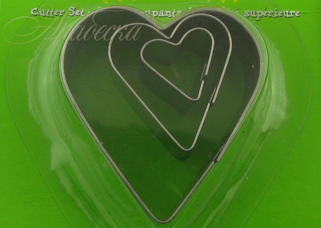 Формы (каттеры) для полимерной глины Сердце MAKIN`S