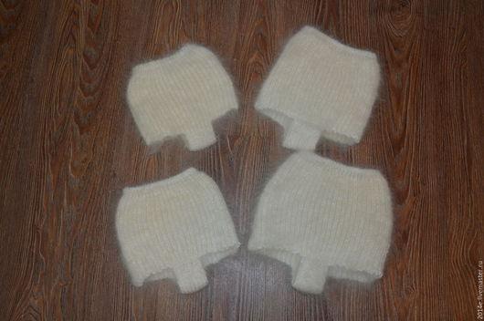Белье ручной работы. Ярмарка Мастеров - ручная работа. Купить Трусы пуховые детские. Handmade. Серый, трусы вязаные
