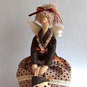 Куклы и игрушки ручной работы. Ярмарка Мастеров - ручная работа Тильда ангел Кофеюшка. Handmade.