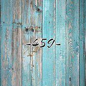 Для дома и интерьера ручной работы. Ярмарка Мастеров - ручная работа Фотофон голубые доски. Handmade.