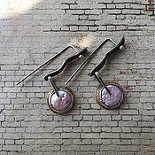 """Украшения ручной работы. Ярмарка Мастеров - ручная работа Серьги с розовым жемчугом """"Элегия"""". Handmade."""