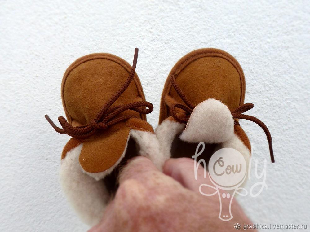 """Детские ботиночки на цигейке """"Cozy Winter"""", Обувь для детей, Лиссабон,  Фото №1"""