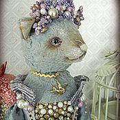 """Куклы и игрушки ручной работы. Ярмарка Мастеров - ручная работа Кошка """"Фиалка в сахаре и кофе"""". Handmade."""